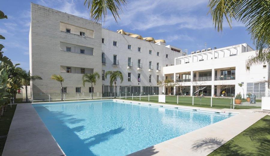 hotel para despedidas en malaga