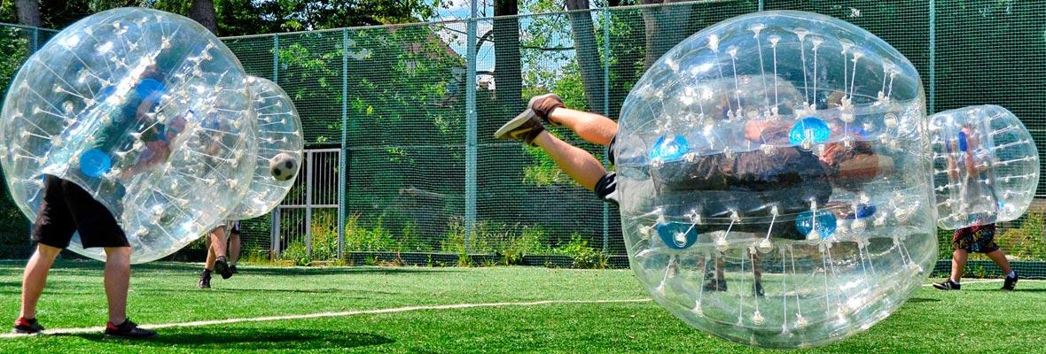 bubble football málaga