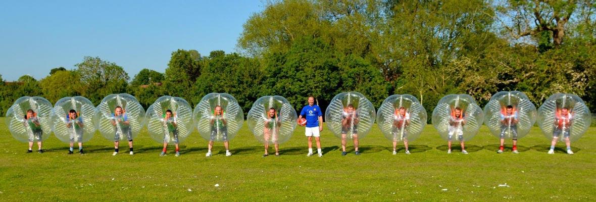 bubble futbol en málaga
