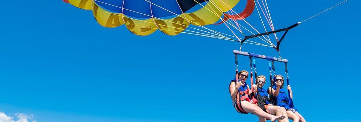 parasailing en málaga