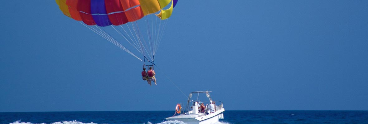 parasailing para despedidas