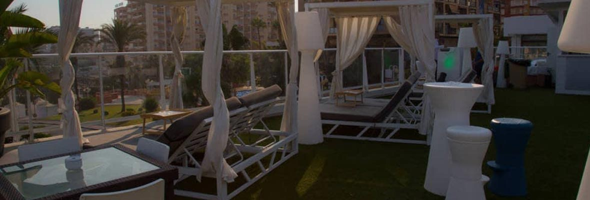 terraza party puerto marina